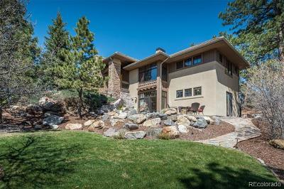 Castle Rock Single Family Home Active: 633 Castle Pines Drive