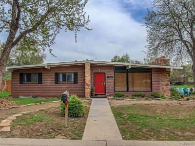 Greeley Single Family Home Under Contract: 1962 25th Avenue