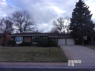Denver Single Family Home Active: 2513 South Kearney Street