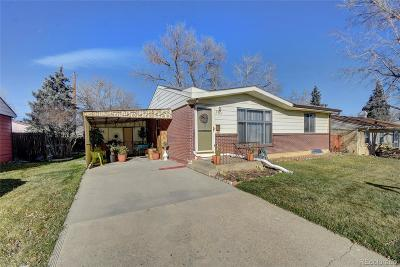 Denver Single Family Home Active: 2261 West 80th Avenue