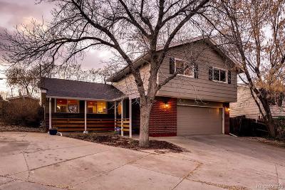 Arvada Single Family Home Under Contract: 6401 Zinnia Street