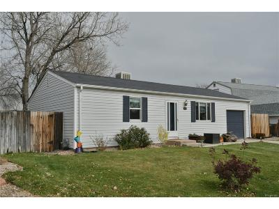 Westminster Single Family Home Under Contract: 9771 West 104th Drive