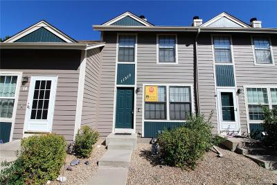 Northglenn Condo/Townhouse Under Contract: 11512 Community Center Drive #13
