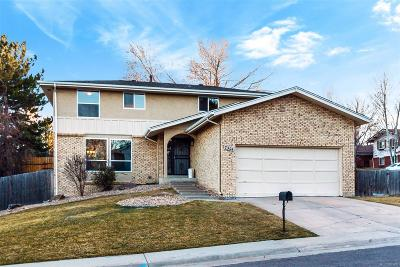 Denver Single Family Home Active: 7304 East Jefferson Drive