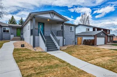 Denver Condo/Townhouse Under Contract: 1655 Yates Street