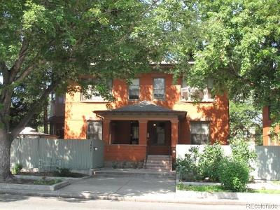 Cheeseman & Moffat, Cheeseman Park, Cheesman Park Condo/Townhouse Active: 1401 North Franklin Street #4