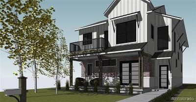 Denver Single Family Home Active: 1701 South Jackson Street