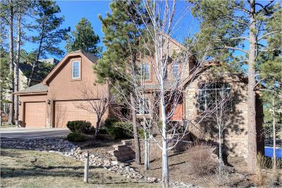 Larkspur CO Single Family Home Under Contract: $674,000