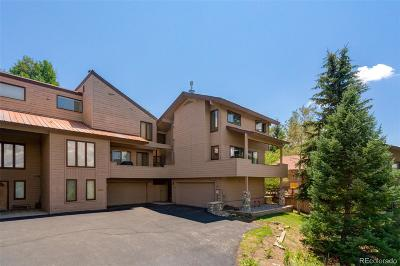 Steamboat Springs Condo/Townhouse Active: 1863 Clubhouse Drive
