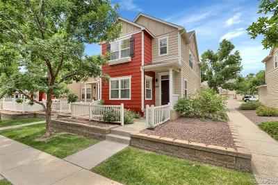 Castle Rock Condo/Townhouse Active: 1484 Thunder Butte Road