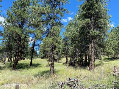 Bailey CO Residential Lots & Land Active: $475,000