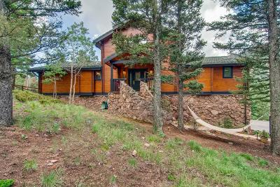 Manitou Springs Single Family Home Under Contract: 6780 Eagle Mountain Road
