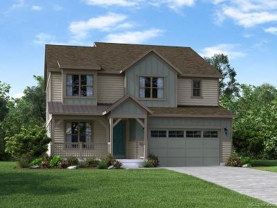 Littleton Single Family Home Active: 8426 Arapahoe Peak Street