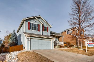 Highlands Ranch Single Family Home Active: 469 Stellars Jay Drive