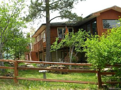 Elbert County Single Family Home Under Contract: 20433 Cr 73 Road