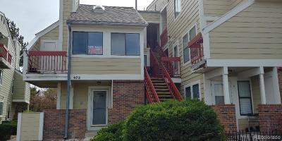 Aurora Condo/Townhouse Active: 972 South Dearborn Way #9