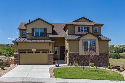 Castle Rock Single Family Home Active: 554 Sage Grouse Circle