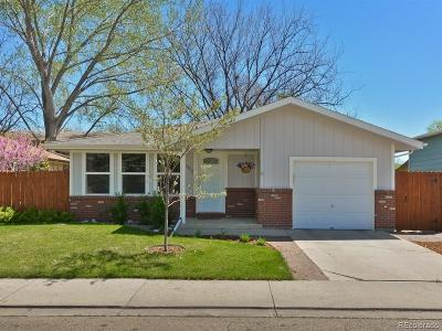 Longmont Single Family Home Active: 1908 Carr Drive