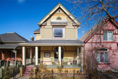 Denver Single Family Home Under Contract: 2741 Stout Street