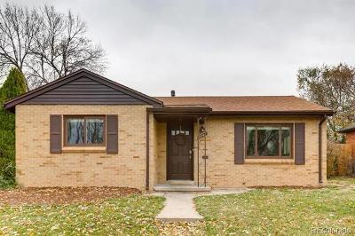Denver Single Family Home Active: 3244 Olive Street