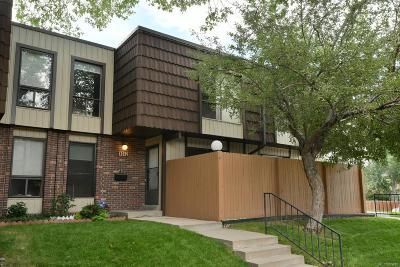 Lakewood Condo/Townhouse Active: 9342 West Utah Avenue
