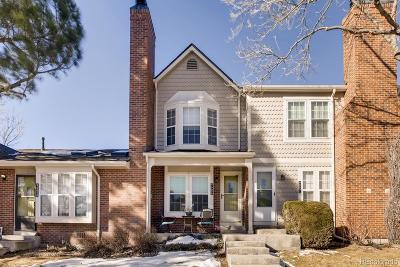 Littleton Condo/Townhouse Under Contract: 9665 West Chatfield Avenue #B