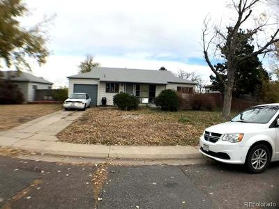 Denver Single Family Home Active: 848 South Peterson Way