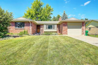 Broomfield Single Family Home Under Contract: 935 Flint Way