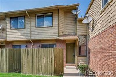 Northglenn Condo/Townhouse Under Contract: 11217 Grant Drive #A3