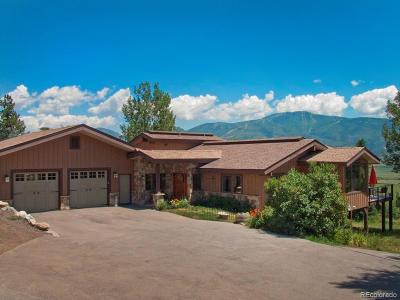 Steamboat Springs CO Single Family Home Active: $1,250,000