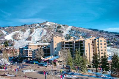 Steamboat Springs Condo/Townhouse Under Contract: 1855 Ski Time Square Drive #301