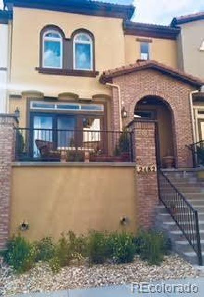Lakewood Condo/Townhouse Active: 2482 South Orion Circle