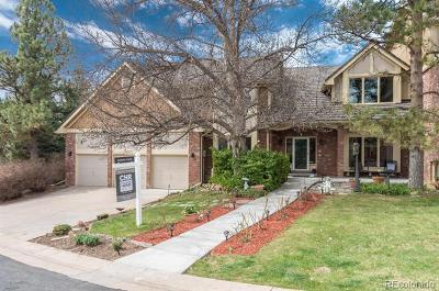 Centennial Single Family Home Active: 6037 South Bellaire Way