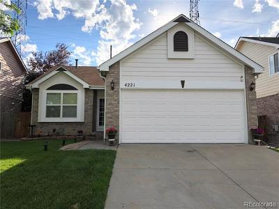 Aurora Single Family Home Active: 4221 South Himalaya Way