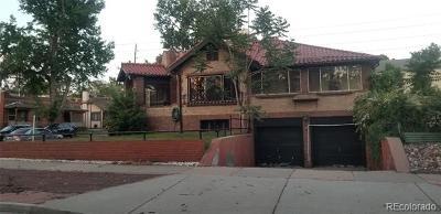 Denver Single Family Home Active: 476 University Boulevard