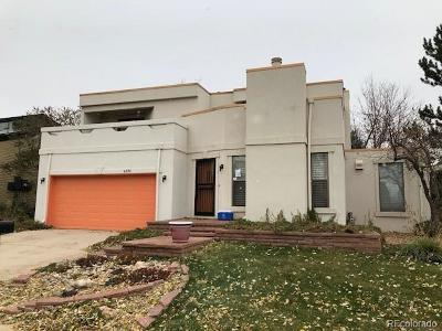 Aurora, Denver Single Family Home Active: 4370 South Abilene Circle
