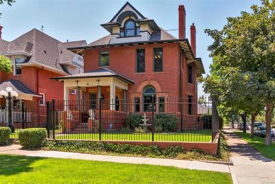 Denver Single Family Home Active: 2155 North High Street