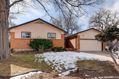 Northglenn Single Family Home Under Contract: 10021 Melody Drive