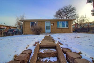 Denver Single Family Home Under Contract: 3490 West Louisiana Avenue