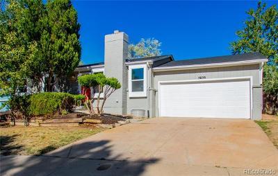 Littleton Single Family Home Active: 5656 South Robb Street