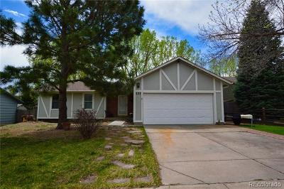 Colorado Springs Single Family Home Active: 223 Saddlemountain Road
