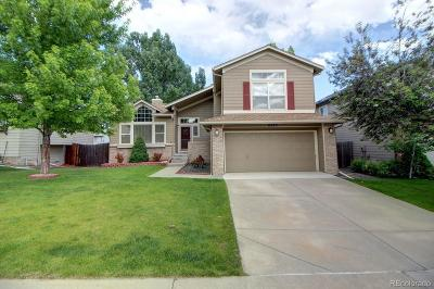 Littleton Single Family Home Active: 6582 South Taft Way