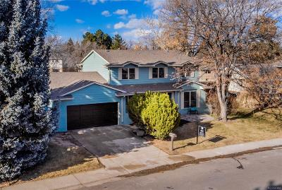 Denver Single Family Home Under Contract: 7433 East Mercer Place