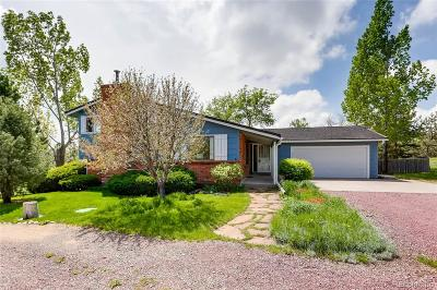 Castle Rock Single Family Home Under Contract: 300 East Turf Lane