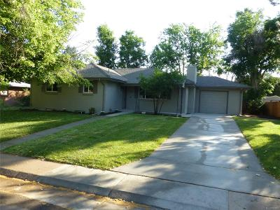 Littleton Single Family Home Active: 6056 South Valleyview Street