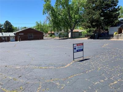 Arvada Residential Lots & Land Active: 7232 West 68th Place