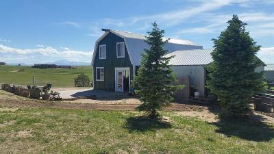 Colorado Springs Single Family Home Active: 18425 Table Rock Road