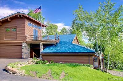 Steamboat Springs Single Family Home Active: 1835 Upper Huckleberry Lane