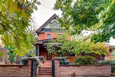 Denver Single Family Home Under Contract: 1658 North High Street