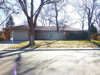 Wheat Ridge Single Family Home Under Contract: 12376 West 34th Place